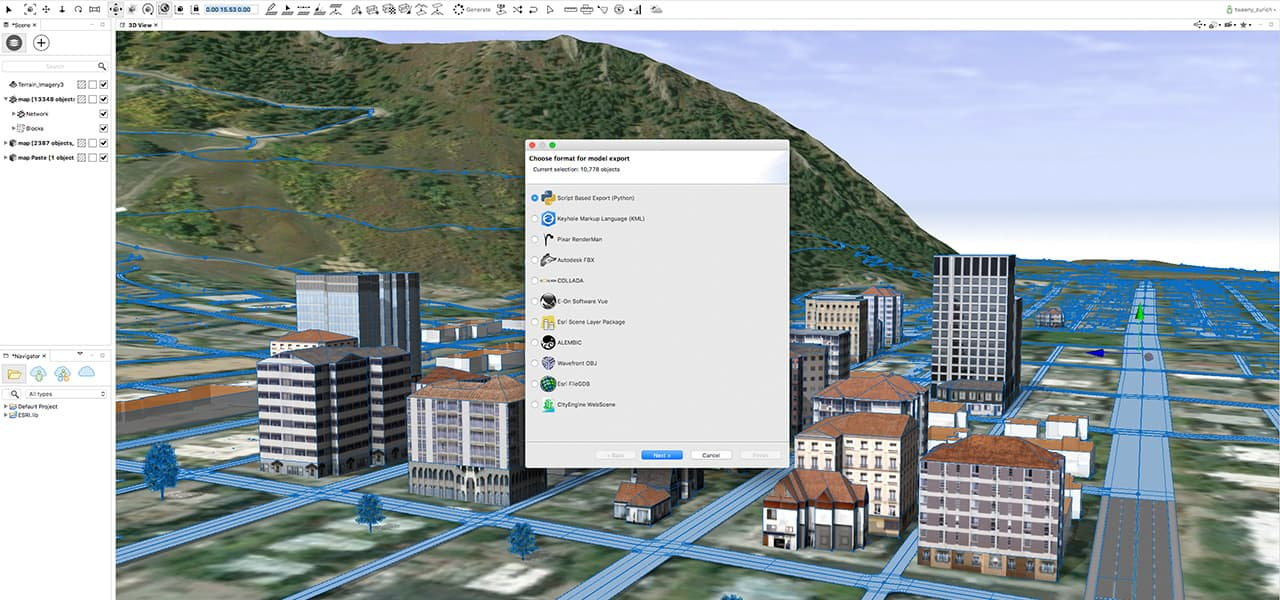 Advanced 3D City Design Software | Esri CityEngine