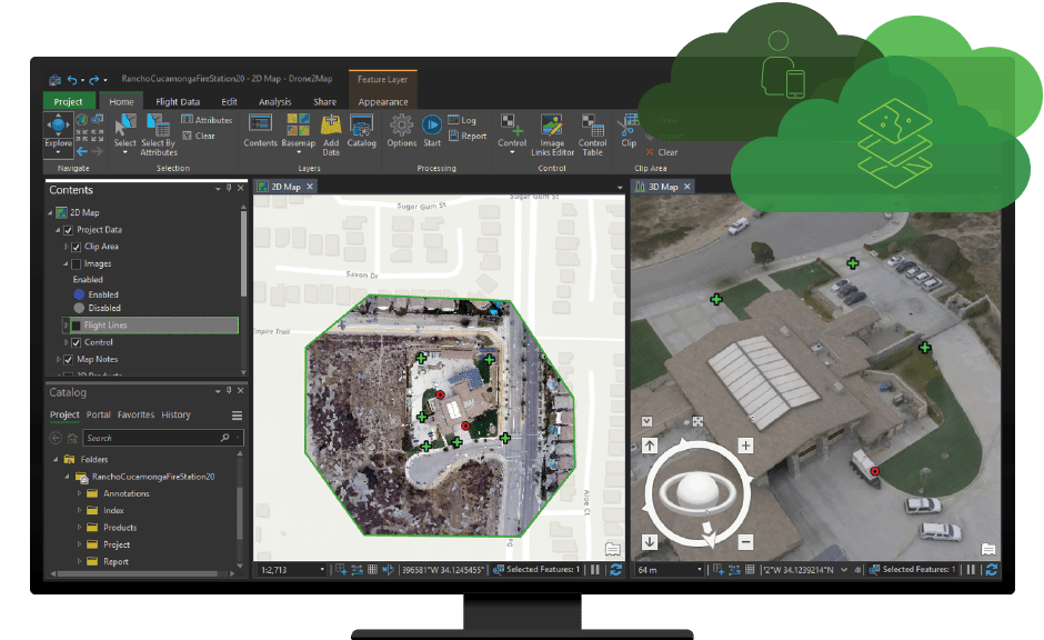 Drone2Map for ArcGIS | Turn Your Drone into an Enterprise