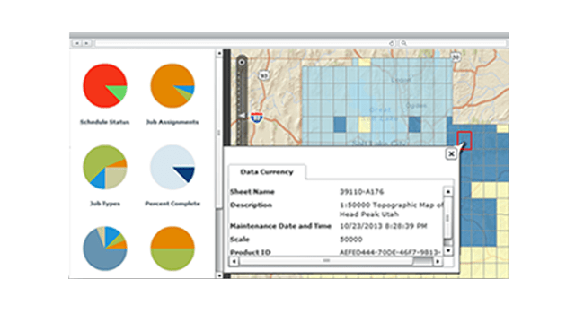 Store production-related information