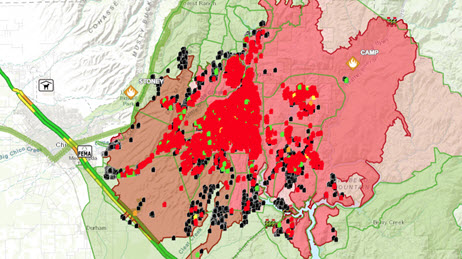 Wildfire Maps Response Support Wildfire Disaster Program