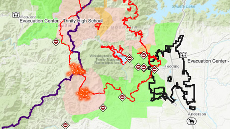Wildfire Maps Response Support Wildfire Disaster Program - Us-wildfire-activity-map