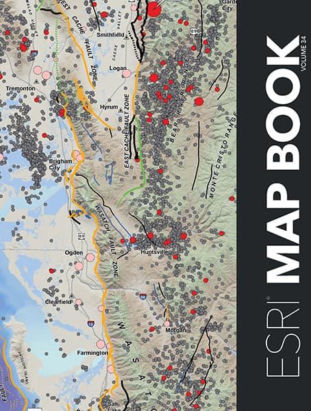 Esri Map Book, Volume 34 Cover
