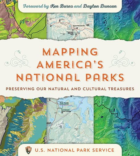 Mapping America's National Parks: Preserving Our Natural and Cultural Treasures Cover