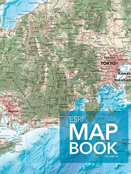 Esri Map Book, Volume 35 Cover