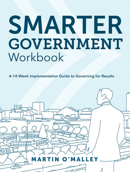 Smarter Government Workbook: A 14-Week Implementation Guide to Governing for Results Cover