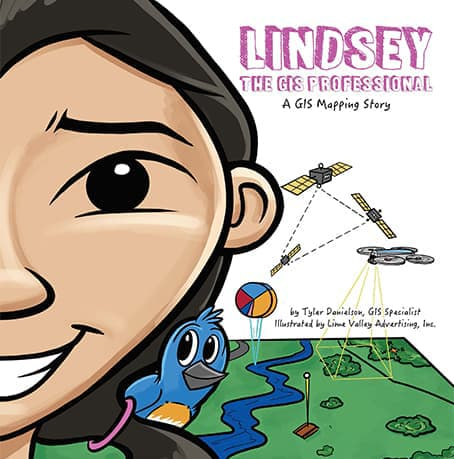 Lindsey the GIS Professional Cover