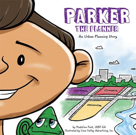 Parker the Planner Cover