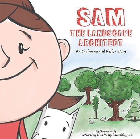 Sam the Landscape Architect Cover