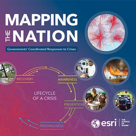 Mapping the Nation: Governments' Coordinated Responses to Crises (2021) Cover