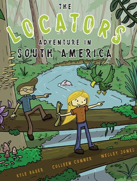 The Locators: Adventure in South America Cover