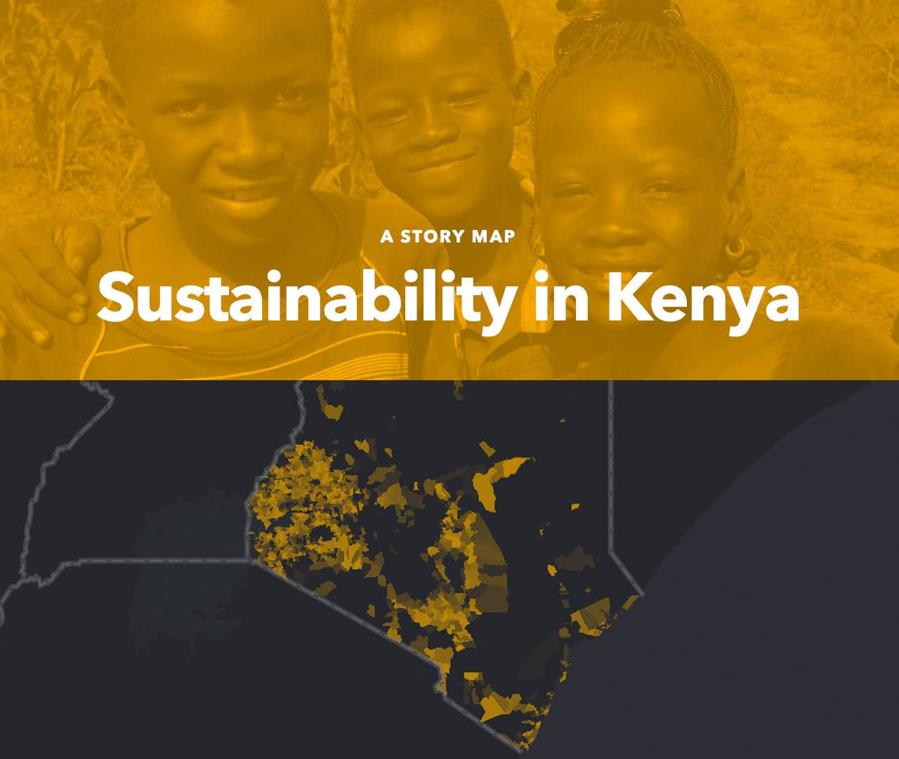 Sustainability in Kenya storymap