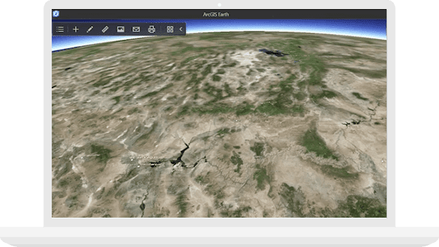 Arcgis earth go around the world gumiabroncs Gallery
