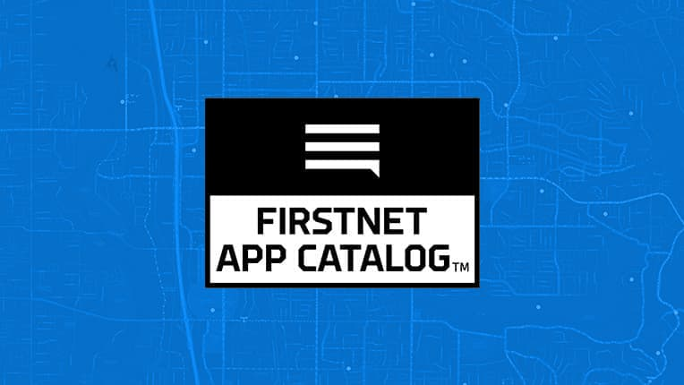 FirstNet App Catalog with Esri Apps