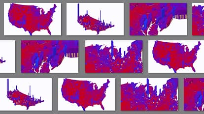 Election Results in 3D Map | Maps We Love - Esri
