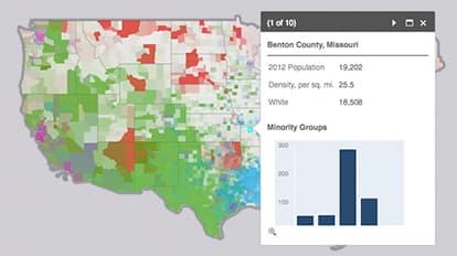 Us Minority Populations Maps We Love Esri - Map-of-minorities-in-us