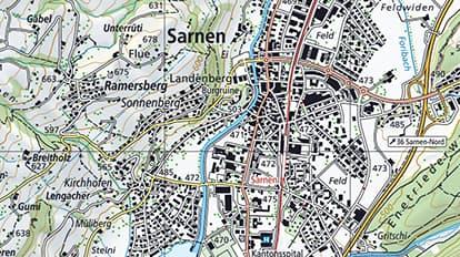 National Maps For Switzerland Maps We Love Esri