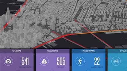 Vision Zero Dashboard: Real-Time Traffic | Maps We - Esri on