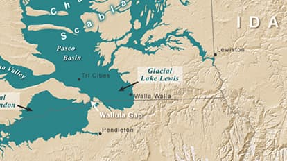 Washington\'s Ice Age Floods | Maps We Love - Esri