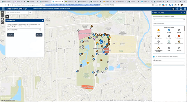 Plan and Manage Special Events with GIS Tools