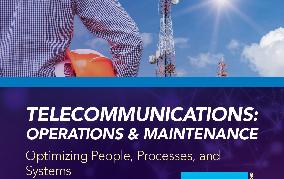 Telecommunications: Network op & maintenance
