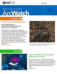 April 2020 issue of ArcWatch
