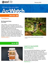 February 2020 issue of ArcWatch