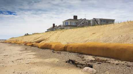 Large house on the shore of Cape Cod