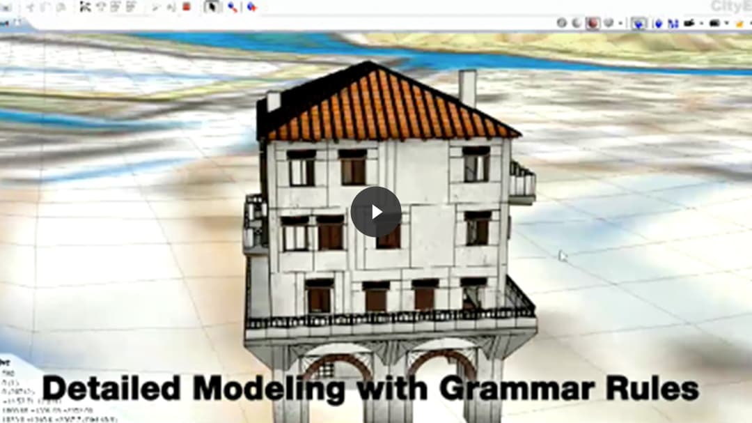 "Image with text overlaid that says, ""Modeling with Grammar Rules"""