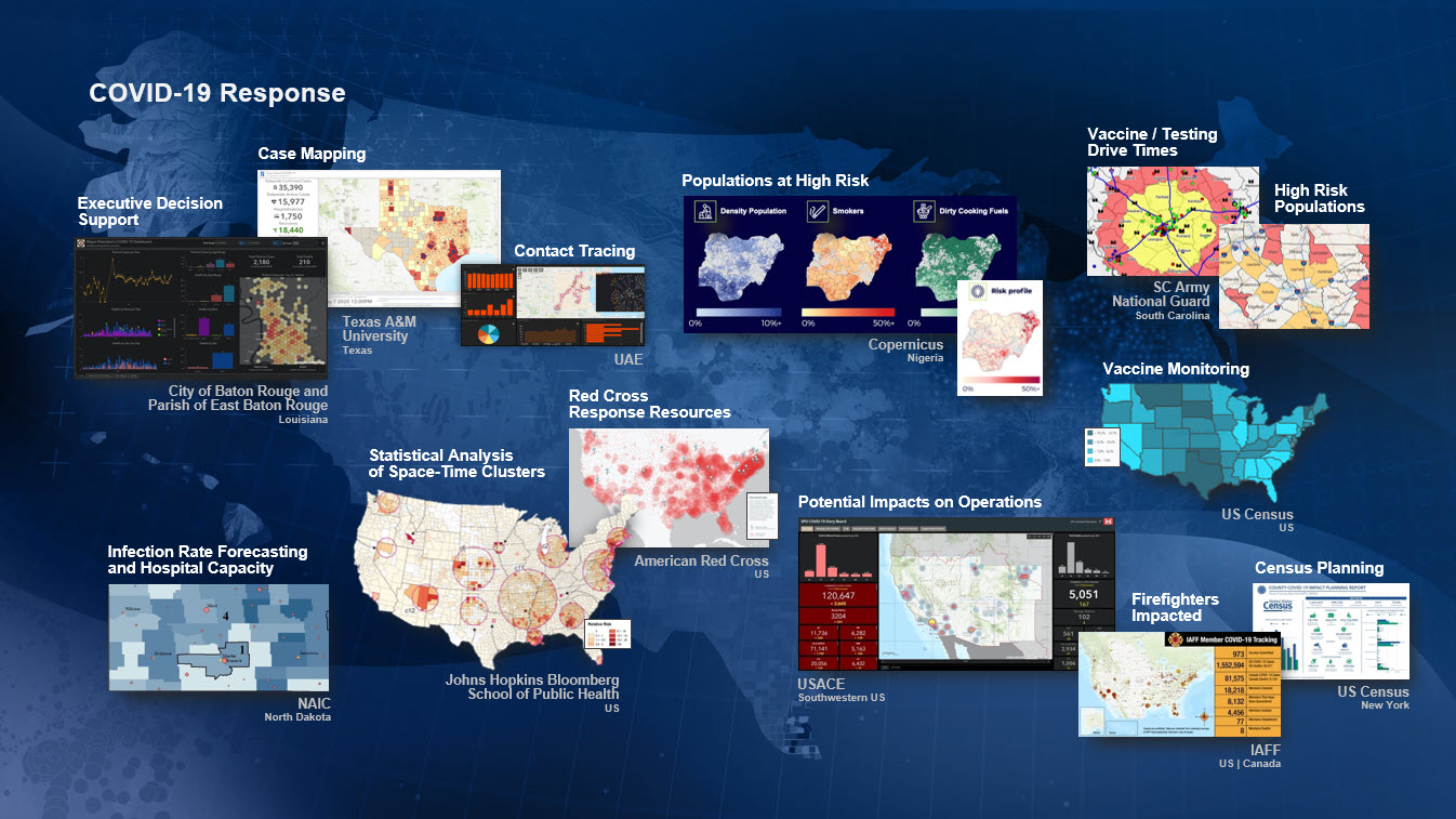 Explore the Successful Use of GIS for COVID-19 Response