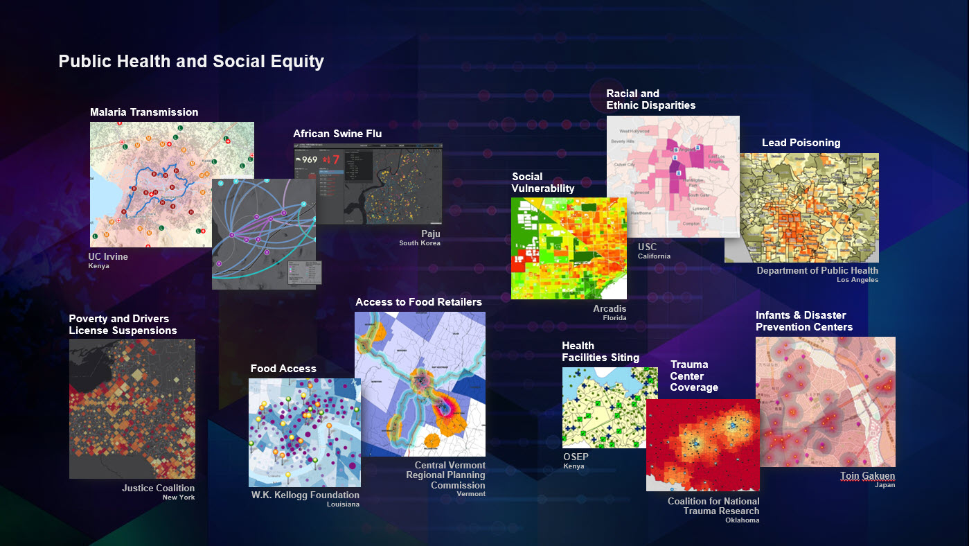 Explore the Successful Use of GIS for Public Health and Equity