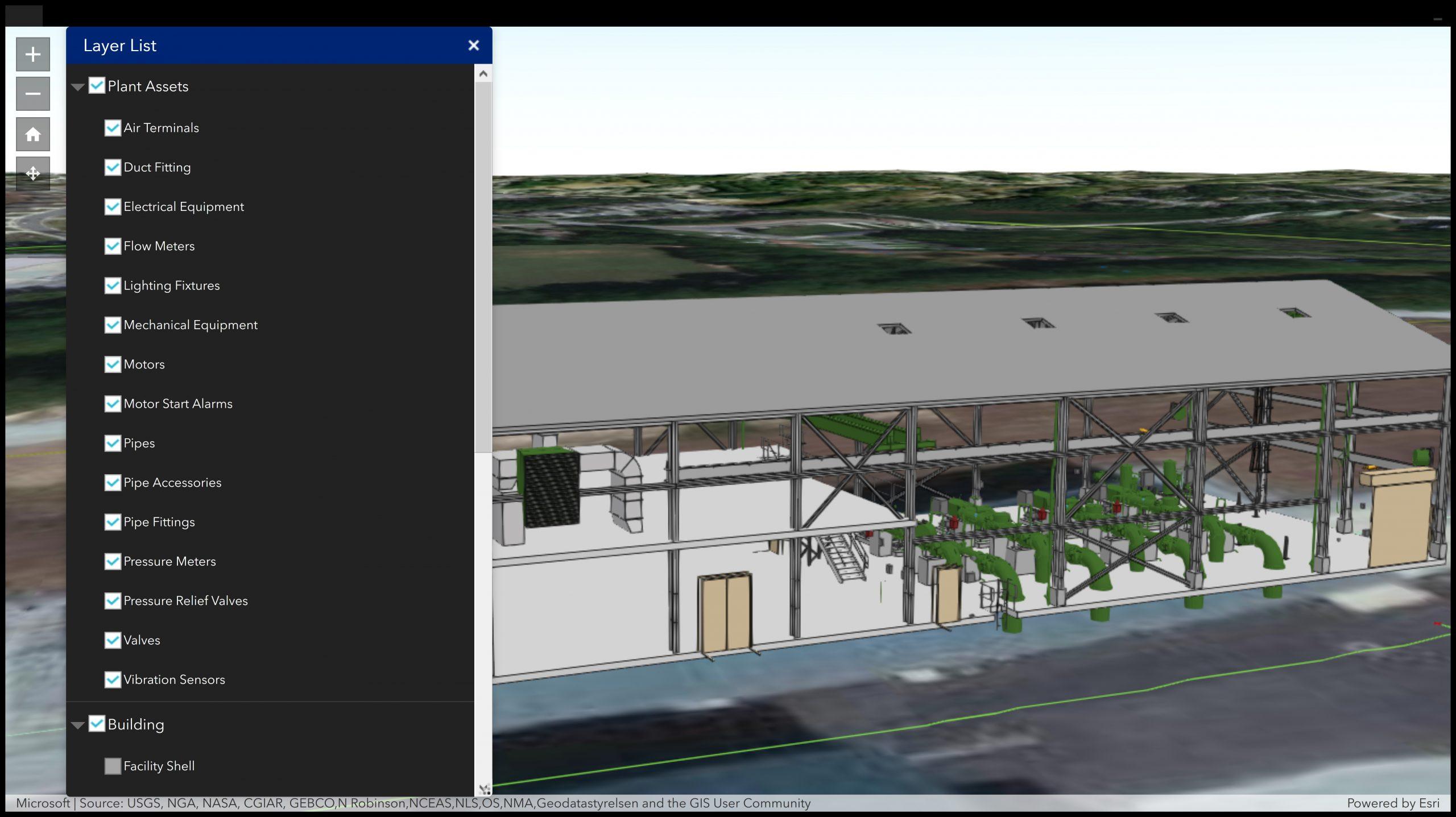 Water 3D Vertical Asset Inventory