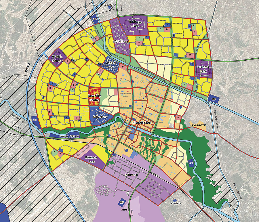 Example Site Plan Map: CityEngine Creates New Solutions For Historic Cities