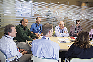 Attendees spent most of their time in breakout sessions with Esri staff.