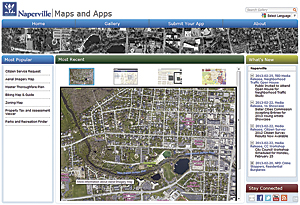 Applications, based on the Local Government Information Model, can be downloaded at no cost from ArcGIS Online.