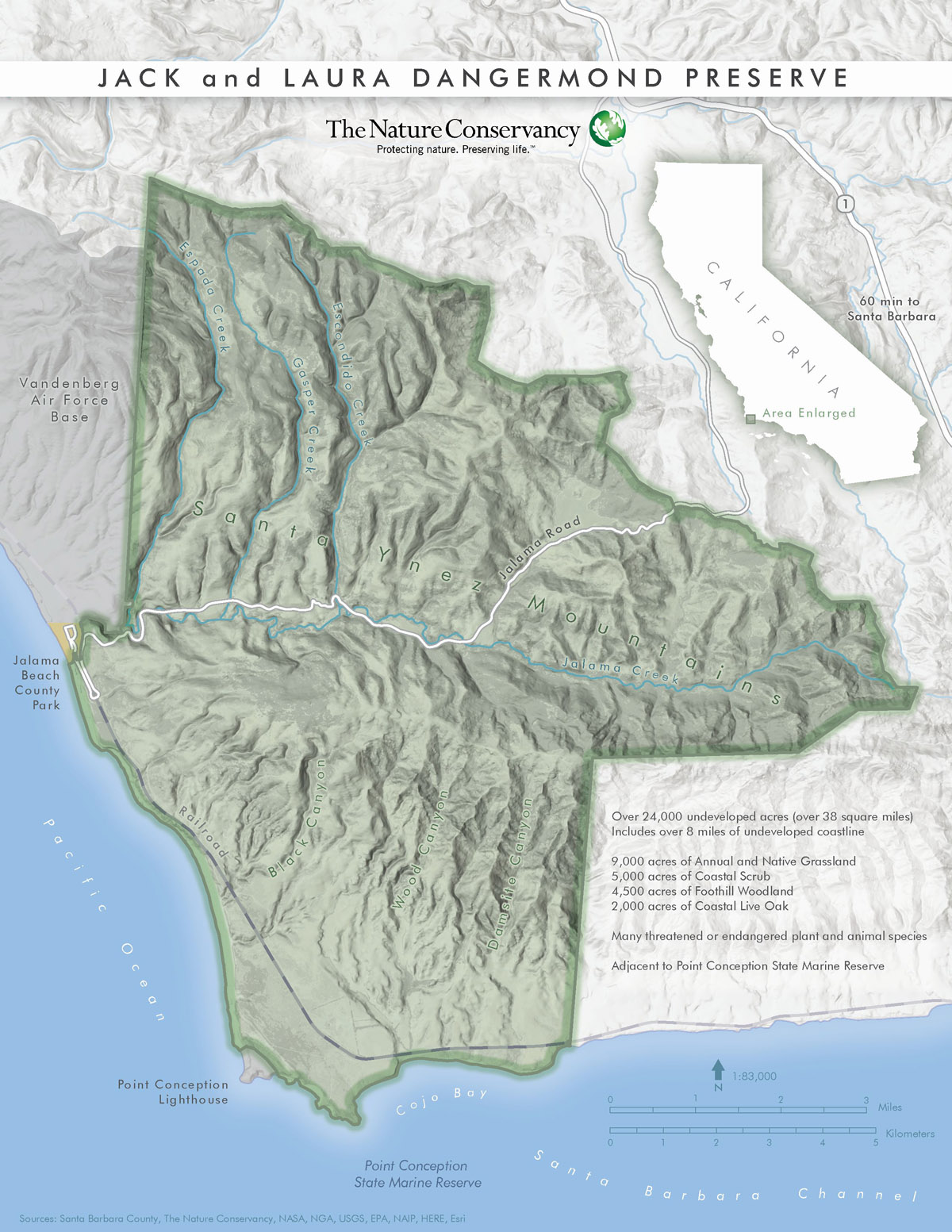 Jack and Laura Dangermond Give Major Gift to Enable Preservation of California Coastline Map on