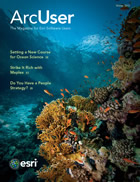 ArcUser Winter 2013 cover