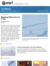 read the ArcWatch February 2013 issue