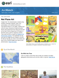 read the ArcWatch April 2013 issue