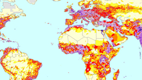 Global Population Density Estimates