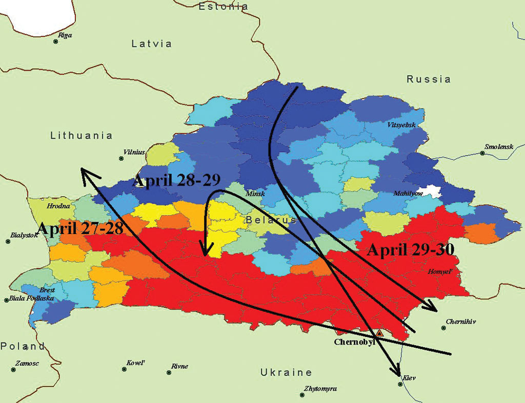 ArcNews Fall 2003 Issue -- yzing the Consequences of ... on ussr map, chernobyl disaster, deaths due to the chernobyl disaster, yalta map, s.t.a.l.k.e.r.: shadow of chernobyl, minsk map, pripyat river, moscow map, chernobyl disaster effects, vladivostok map, russia map, kazan map, balkan peninsula map, new safe confinement, fukushima map, ukrainian national chernobyl museum, ukraine map, pripyat map, grozny map, crimean map, donetsk map, prypjat vergnügungspark, kiev map, siberia map, poland map, red forest, chernobyl nuclear power plant sarcophagus, italy map, belarus map, three mile island accident, kyshtym disaster, europe map, chernobyl necklace, polissya hotel,