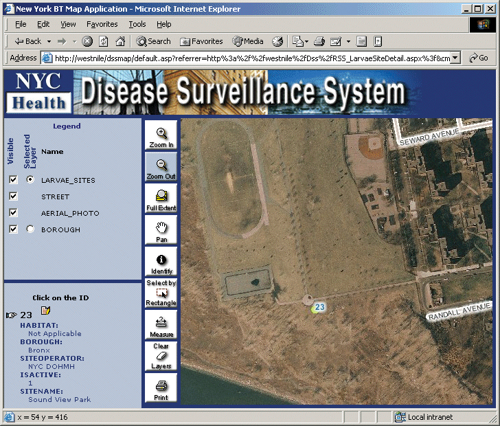 ArcNews Fall Issue New York City Uses GIS For Surveillance - Asp map nyc