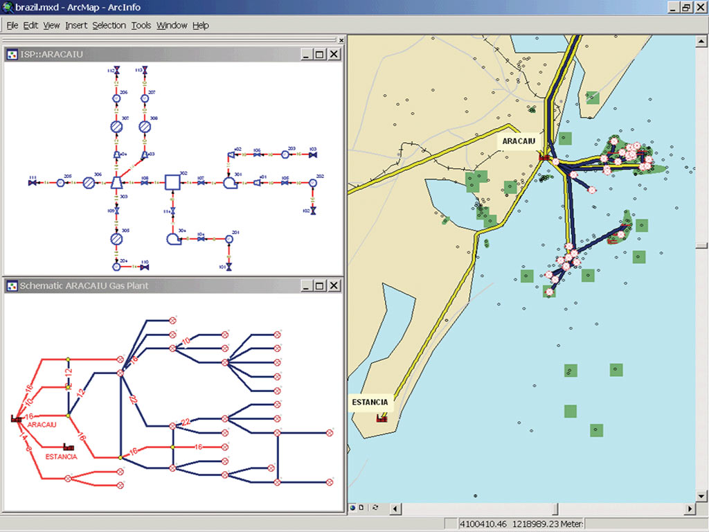 ArcNews Fall 2004 Issue -- ArcGIS Schematics 2.3 Expands Graphic ...