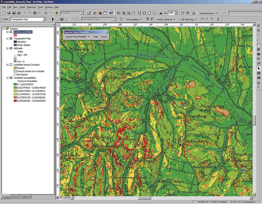 Landslide Maps Landslide Probability Map