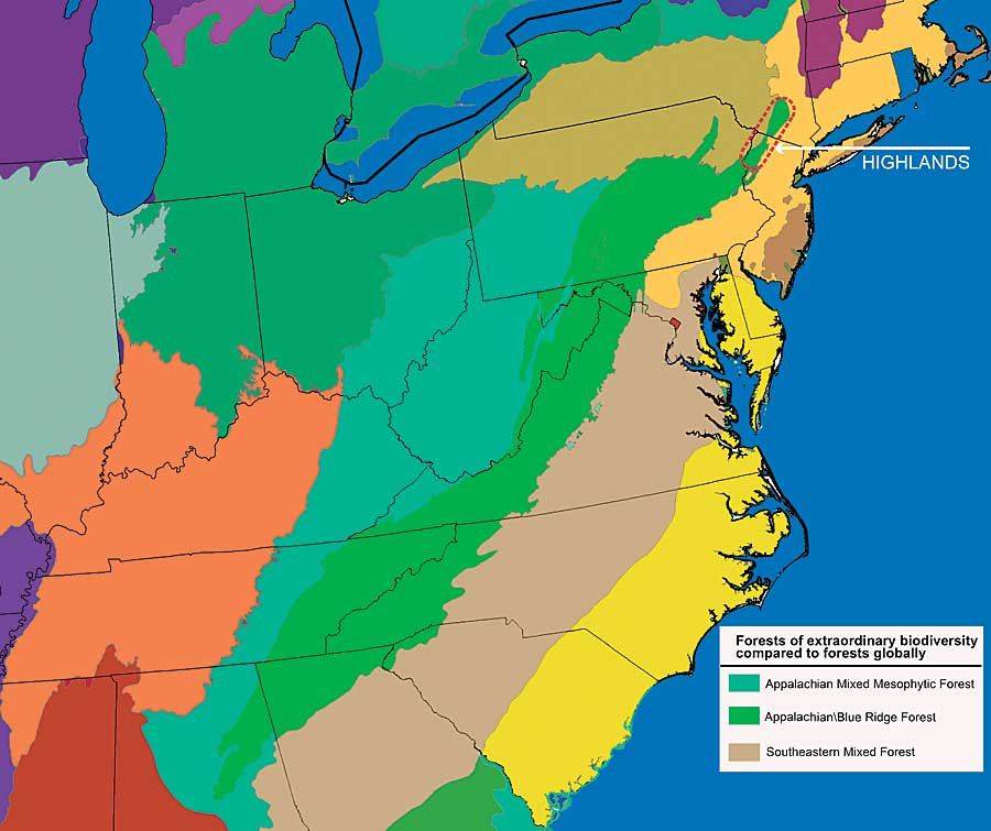 Natural Resources In The Appalachian Highlands