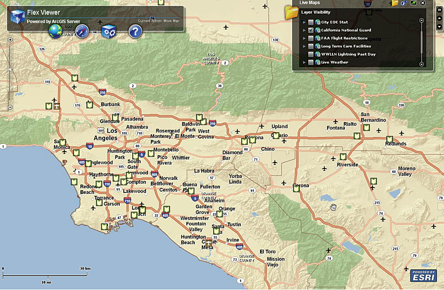 California Selects Gis As One Of The Six Key Enterprise It