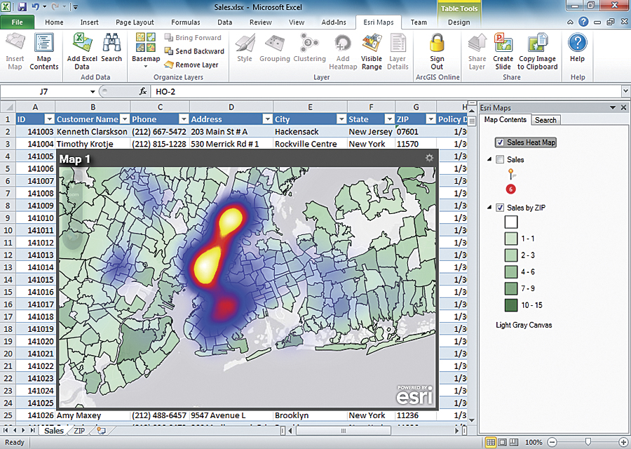 Esri Maps for Office Is Now Available | ArcNews