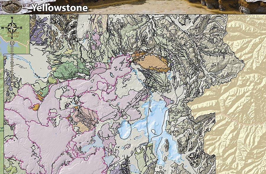 New Yellowstone Website Provides Interactive Maps On Volcanic - Calderas in the us map