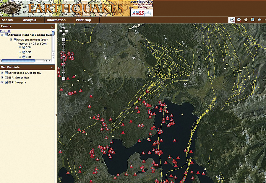 New Yellowstone Website Provides Interactive Maps on
