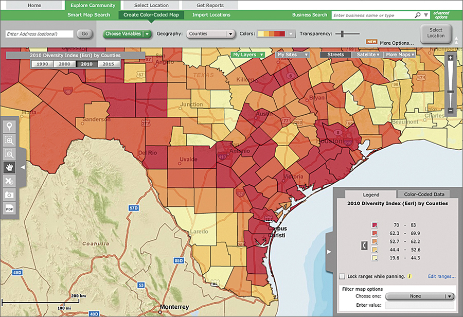 epa geoplatform built on arcgis online infrastructure serves data maps and reports to epa management and staff