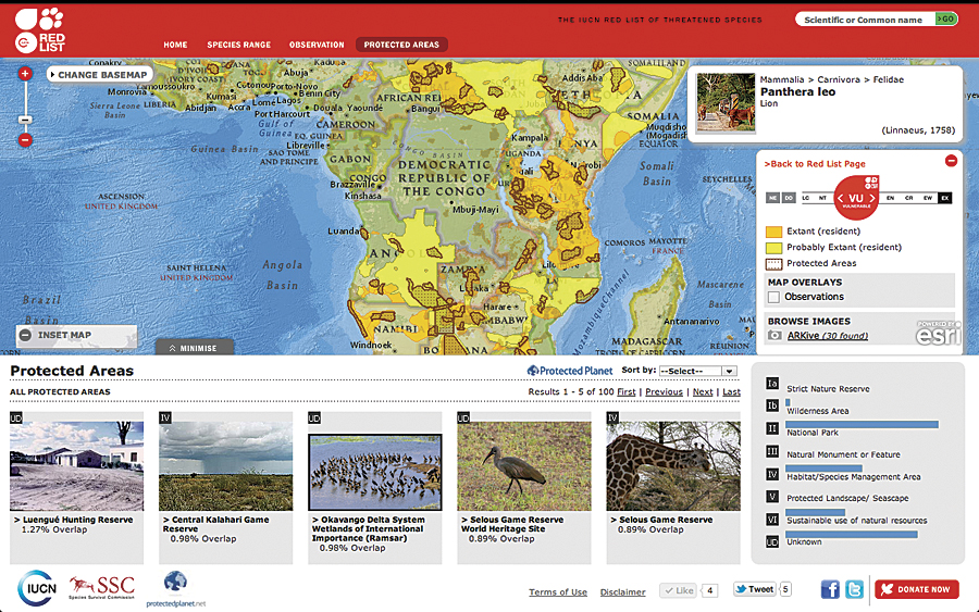 2011 Iucn Red List Of Threatened AnimalsThreatened Animals List